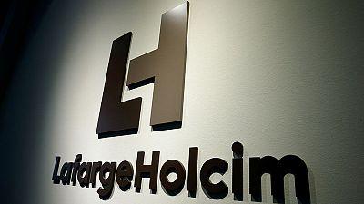 LafargeHolcim doubles first half profit, confirms outlook