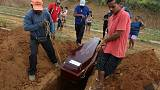 Four inmates suffocated to death en route from site of Brazil prison massacre