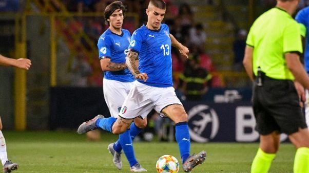 Amichevoli: Perugia-Roma 1-3