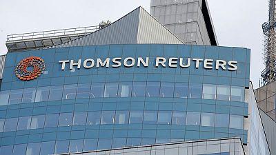 تومسون رويترز ترفع توقعاتها للأرباح مع تسارع نمو الإيرادات في الربع/2