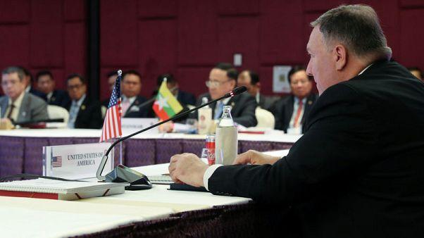 بومبيو: لا نطلب من رابطة آسيان الانحياز لدول دون أخرى