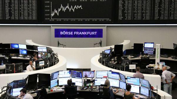 أسهم أوروبا تتراجع بعد بيان المركزي الأمريكي وسهم شل يهوي