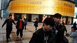 Italy's Prada posts slight increase in first half sales