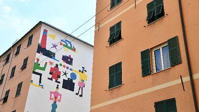 Ponte: street art rilancia quartiere