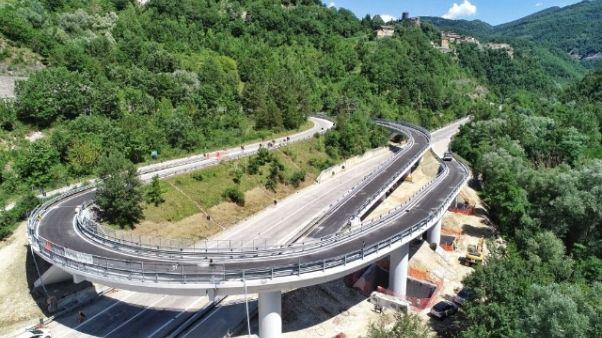 Anas, riaperto svincolo Marche-Umbria