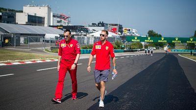 Vettel,non siamo al livello che vorremmo
