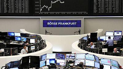 الأسهم الأوروبية تصعد بدعم من أداء قوي للقطاع المالي