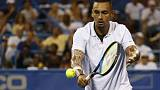 Kyrgios, Tsitsipas advance to quarter-finals at Citi Open