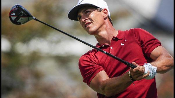Golf: molestie in aereo, fermato Olesen