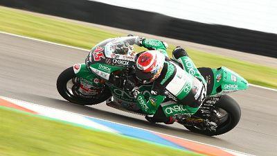 Moto2: R.Ceca, Nagashima detta il passo