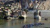 Turkey starts filling huge Tigris river dam, activists say