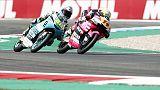 Moto3: Rodrigo si prende seconde libere