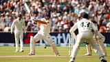 Burns' maiden ton helps England take initiative in Ashes opener