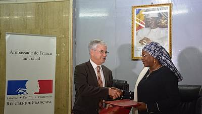 Signature de l'accord d'établissement d'Expertise France au Tchad
