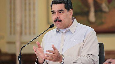"""مادورو يقول إنه """"يرفض"""" بيان ترامب بشأن حصار محتمل لفنزويلا"""