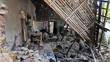 Strong earthquake kills four in Indonesia