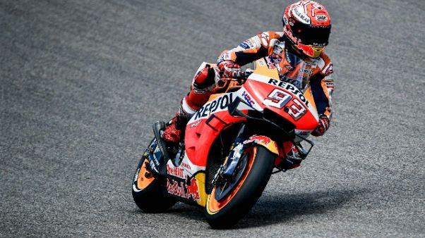 MotoGp: R.Ceca, Marquez domina la Fp3