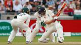 Broad and Woakes help England post first-innings lead
