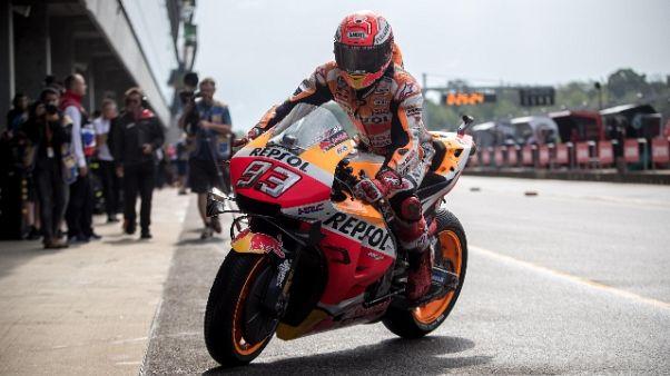 MotoGp: pole a Marquez, 4/o Dovizioso