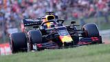 Verstappen takes his first F1 pole in Hungary