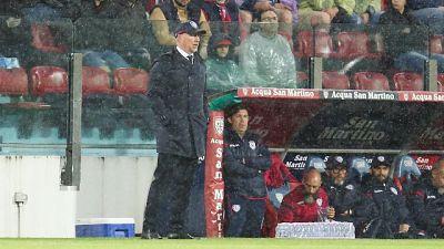 Cagliari sconfitto 4-1 nel secondo test