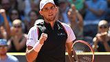 Thiem beats Ramos-Vinolas to win first title on home soil in Kitzbuehel