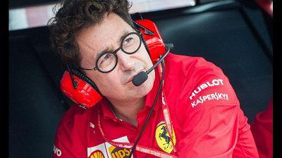 """F1: Binotto """"Bilancio finora negativo"""""""