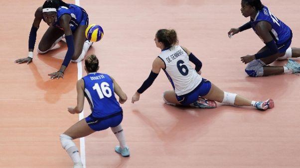 Pallavolo: preolimpico,Italia-Belgio 3-0