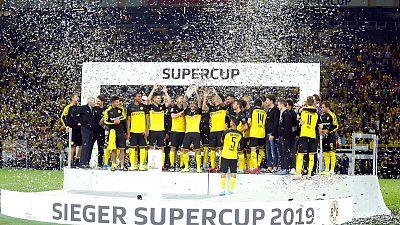 سانتشو يقود دورتموند للقب كأس السوبر الألمانية على حساب بايرن