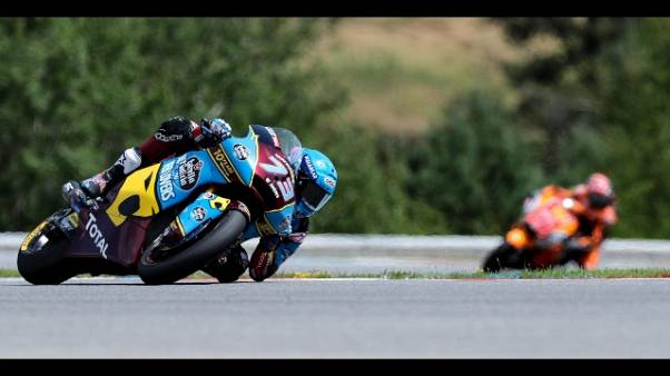 Moto: R.Ceca, A.Marquez vince in Moto2