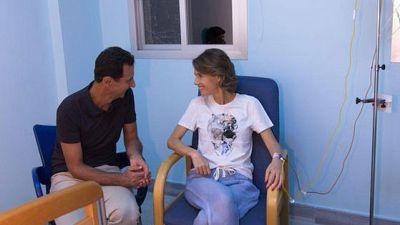 قرينة الأسد تعلن شفاءها التام من سرطان الثدي