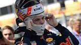 F1: Ungheria, Verstappen scatta in testa