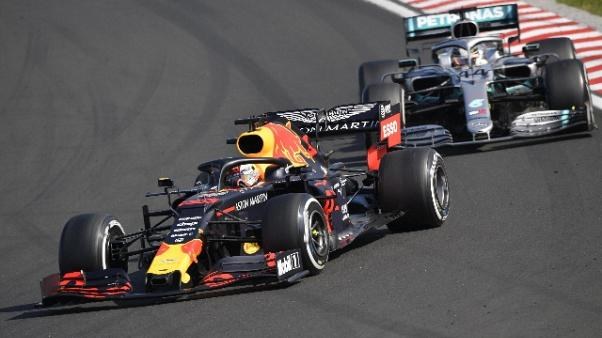 Gp Ungheria:vince Hamilton, terzo Vettel