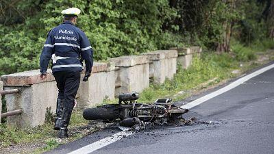 Scontro nel Mantovano,morto motociclista