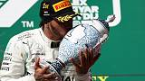 Hamilton hunts down Verstappen to win in Hungary