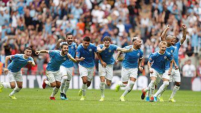 سيتي يهزم ليفربول بركلات الترجيح ويحرز لقب درع المجتمع