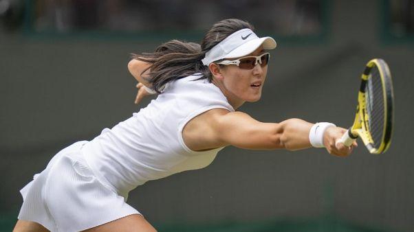 تشينغ تحرز أول لقب في مسيرتها في سان هوزيه