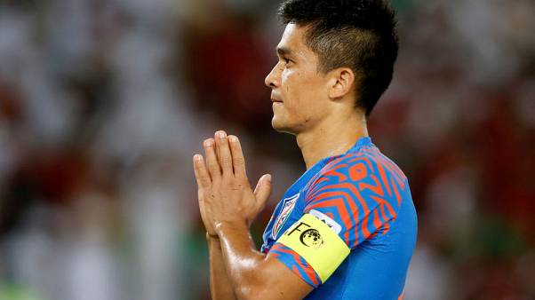 'Hungry' Chhetri wants India in Asia's top 10