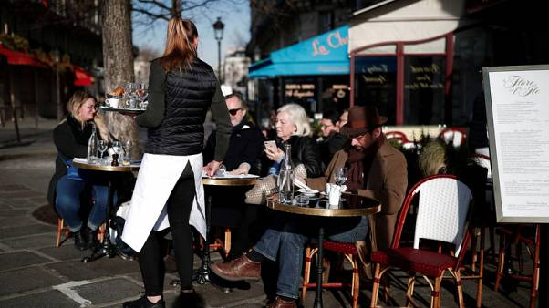 French services activity slipped back in July from June peaks - PMI
