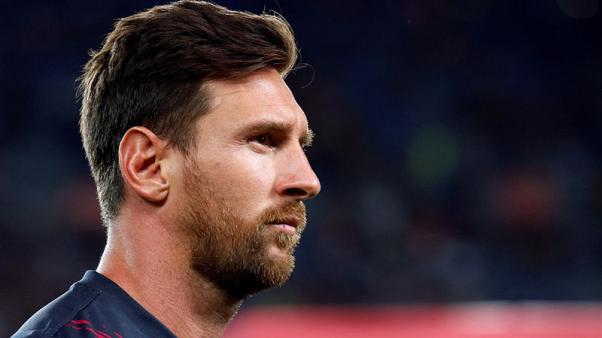Barcelona skipper Messi out of U.S. tour with calf strain