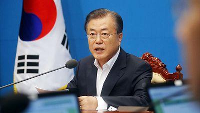 South Korea says can overtake Japan through economic cooperation with North Korea