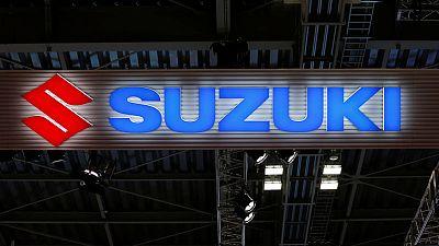 Suzuki posts 46% drop in first-quarter profit on slowing India demand