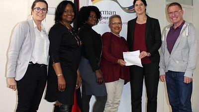 German Embassy supports 'Bright Hill Pre-School' in Okuryangava