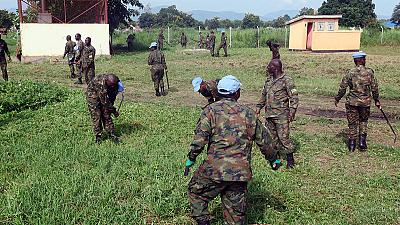 UN Peacekeepers Clean up Torit State Hospital (By Okello James)