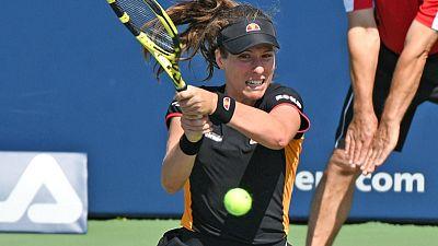 Tennis: Konta beaten by Yastremska in early Rogers Cup upset