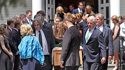Private funeral mass held for granddaughter of Robert F. Kennedy