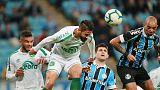 Gremio, Chapecoense share spoils in six-goal thriller