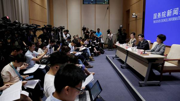 China calls on U.S. politicians to stop colluding with Hong Kong separatists