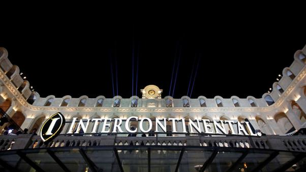 IHG's first-half revenue gauge inches up, but China weighs