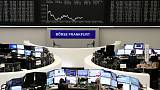 German data props up European shares after two-day sell-off